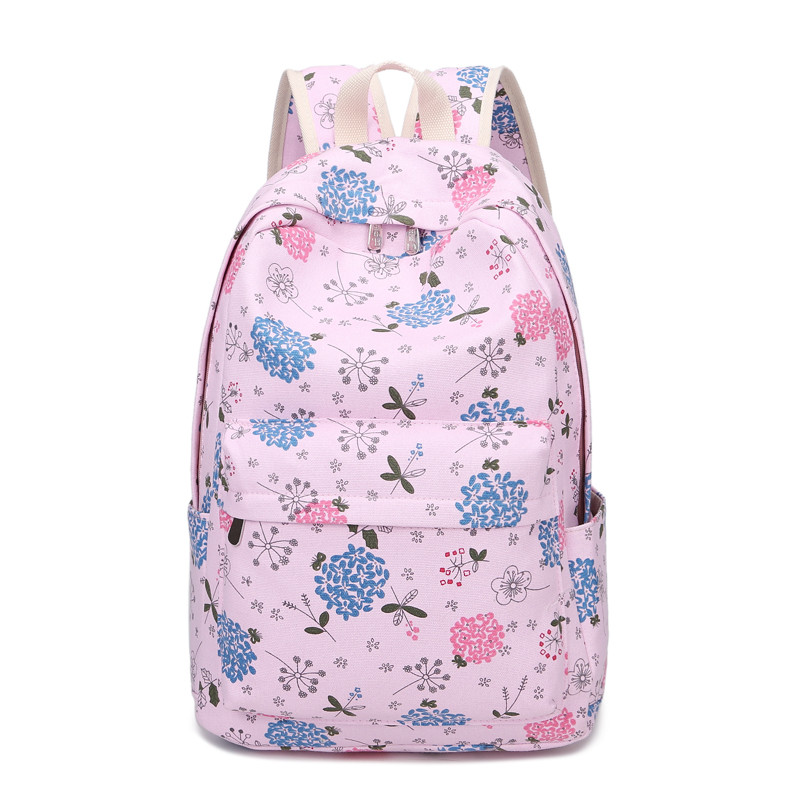 Mini Size Print Women Backpack Korean Preppy Teenager Girl School Bag Casual Ladies Travel Daily Bags Laptop Bag Packs #6