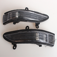 OEM Left & Right Side Mirror Rearview LED Turn Signal Light Lamp For Subaru Forester Outback Legacy