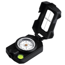 Eyeskey Professional Multi functional Survival Compass Camping Hiking Compass Digital Map Side slope Compass Waterproof hiking camping north pointer compass