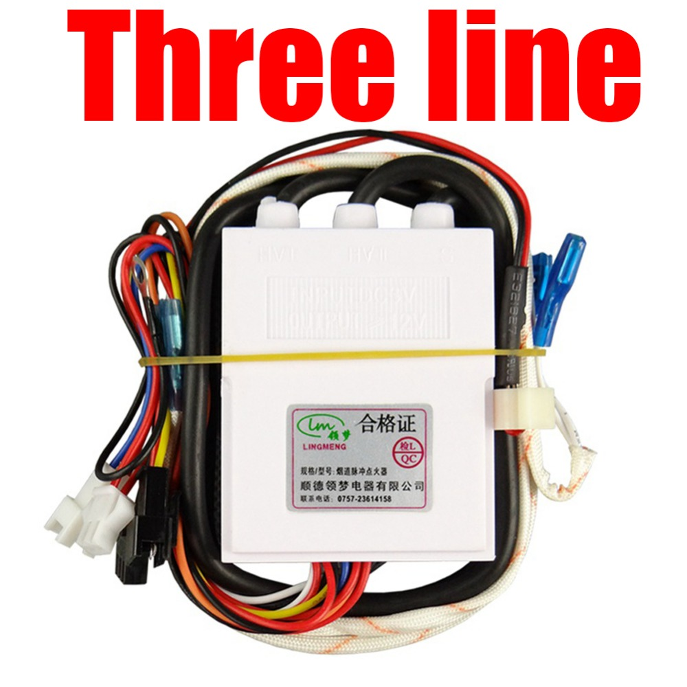 3-line Temperature Control of Domestic Gas Water Heater Fittings with three-wire Pulse Point Igniter Gas Water Heater Parts temperature control of domestic gas water heater fittings with three wire pulse point igniter