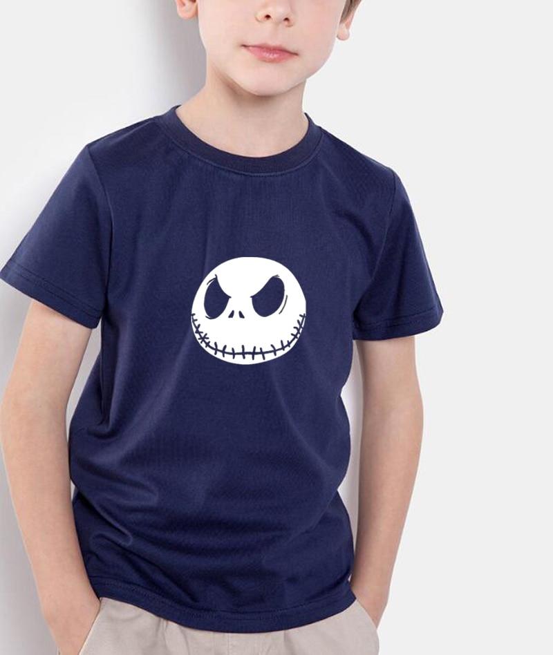 New-fashion-2017-summer-kids-T-Shirt-Nightmare-Before-Christmas-Jack-Skellington-brand-clothing-children-streetwear-tops-tee-2