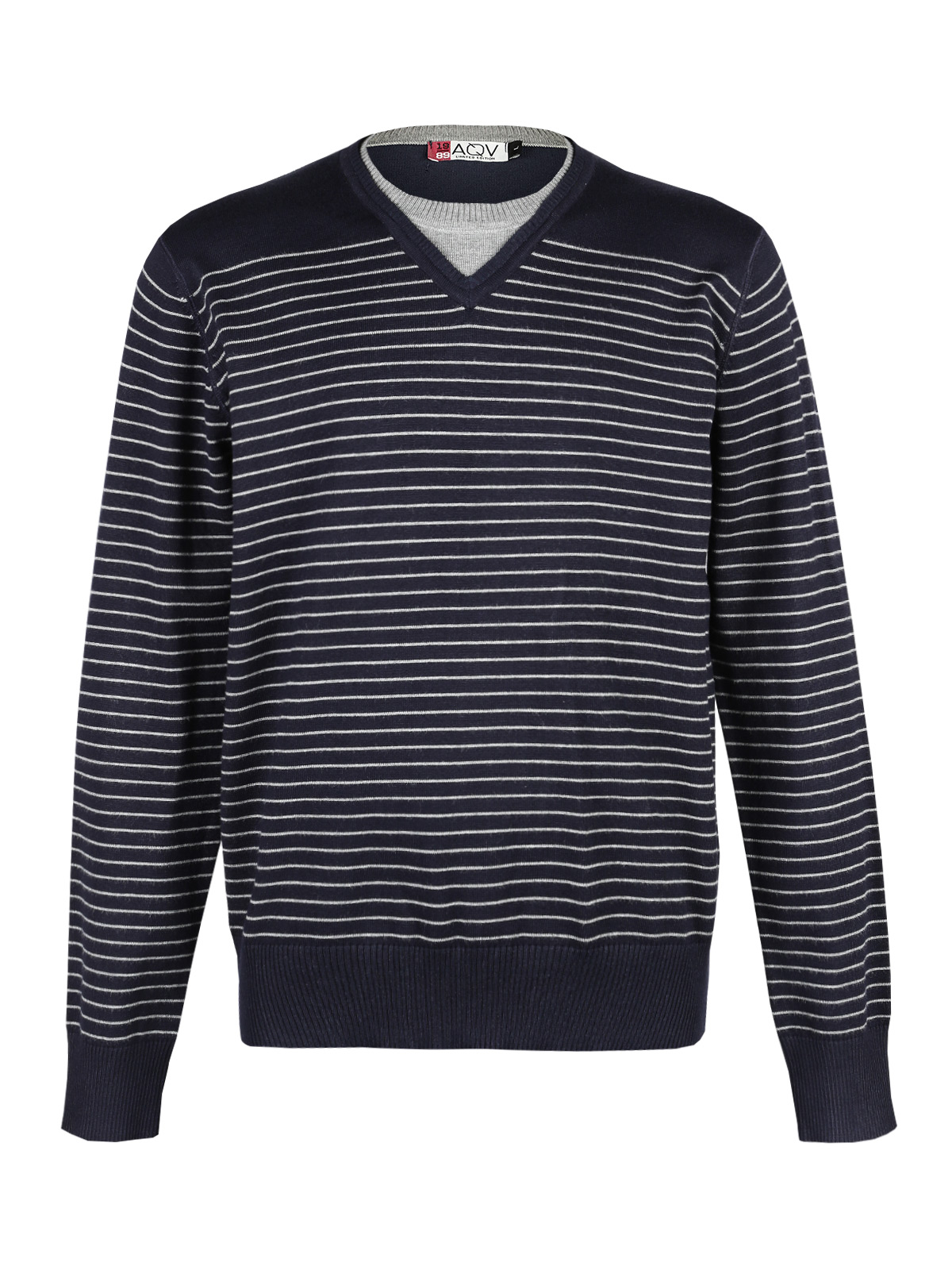 Pullover Knitted Striped