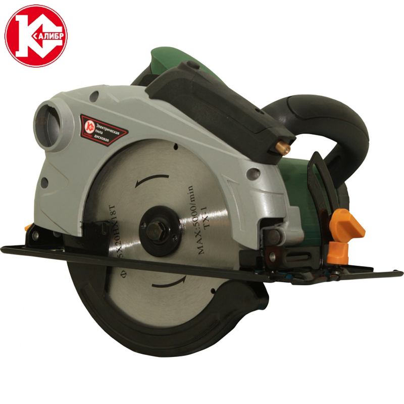 Kalibr EPD-1400/185D+ Electric Circular Saw For Wood With A Blade Tool Circle Saw concise colour block and circle pattern design men s slippers
