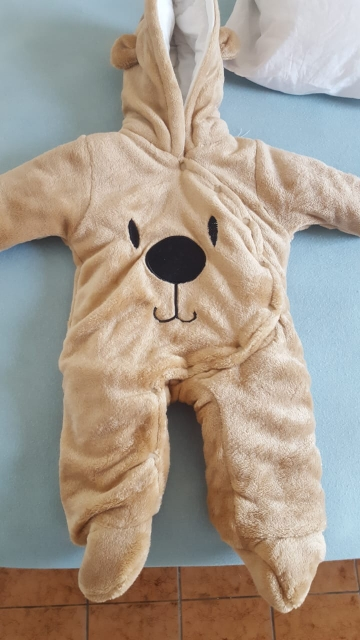 Soft Warm Bear Style Baby Boys Romper photo review