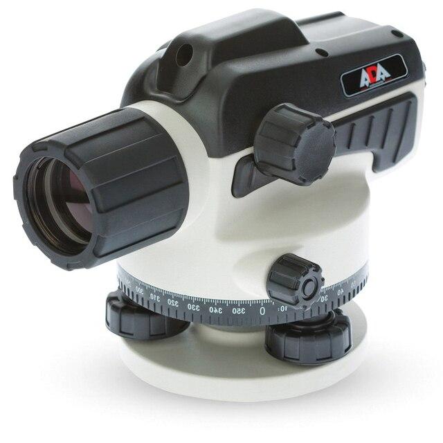Нивелир оптический ADA RUBER 32 (увеличение зрительной трубы х32, погрешность 1,5 мм, диаметр объектива 36 мм)