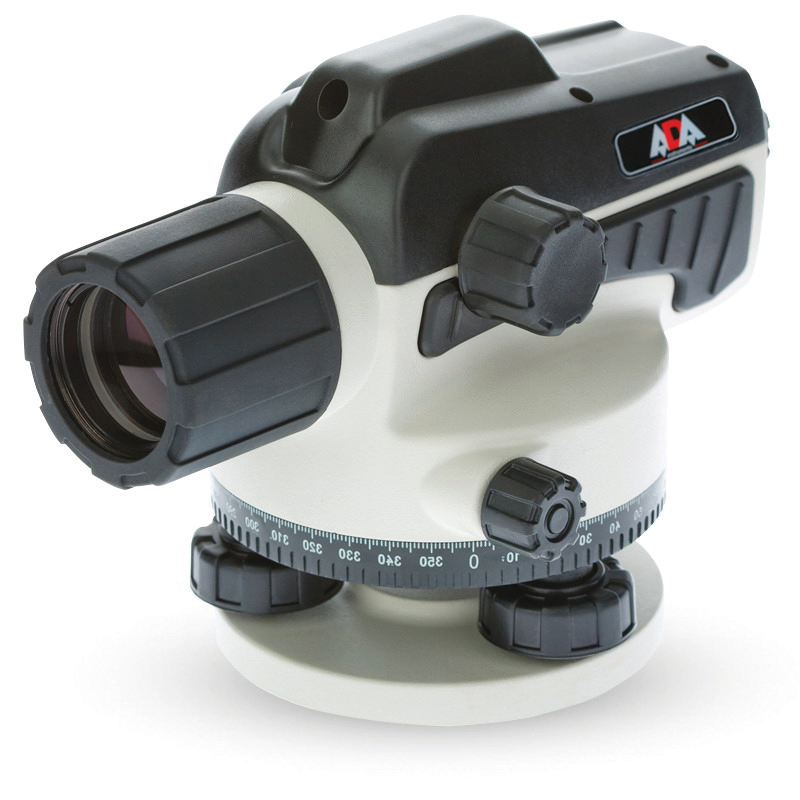 Level optical ADA RUBER 32 (increase visual pipe х32, error 1,5mm, lens diameter 36mm) цена