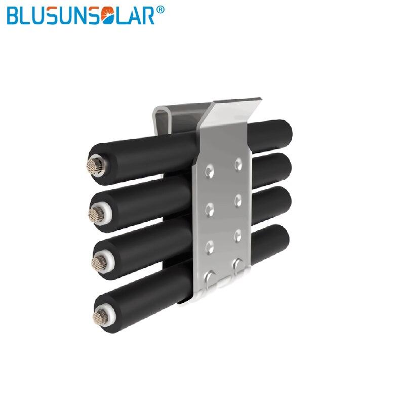 cabo pv, solar cabo braçadeira fio titular solar