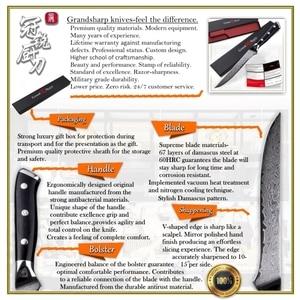 Image 4 - Cuchillo de deshuesar Damasco vg10 de 5,5 pulgadas, cuchillo carnicero de acero damasco japonés, cuchillos de cocina para Chef, utensilios de cocina para cortar y filetear