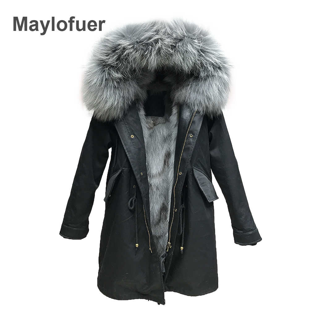 a7a47d6657f long winter jacket women outwear thick parkas raccoon natural real fur  collar coat hooded real warm