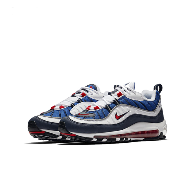 NIKE Air Max 98 Gundam Mens Running Shoes Mesh Breathable Lightweight Support Sports Sneakers Outdoor For Men Shoes 2