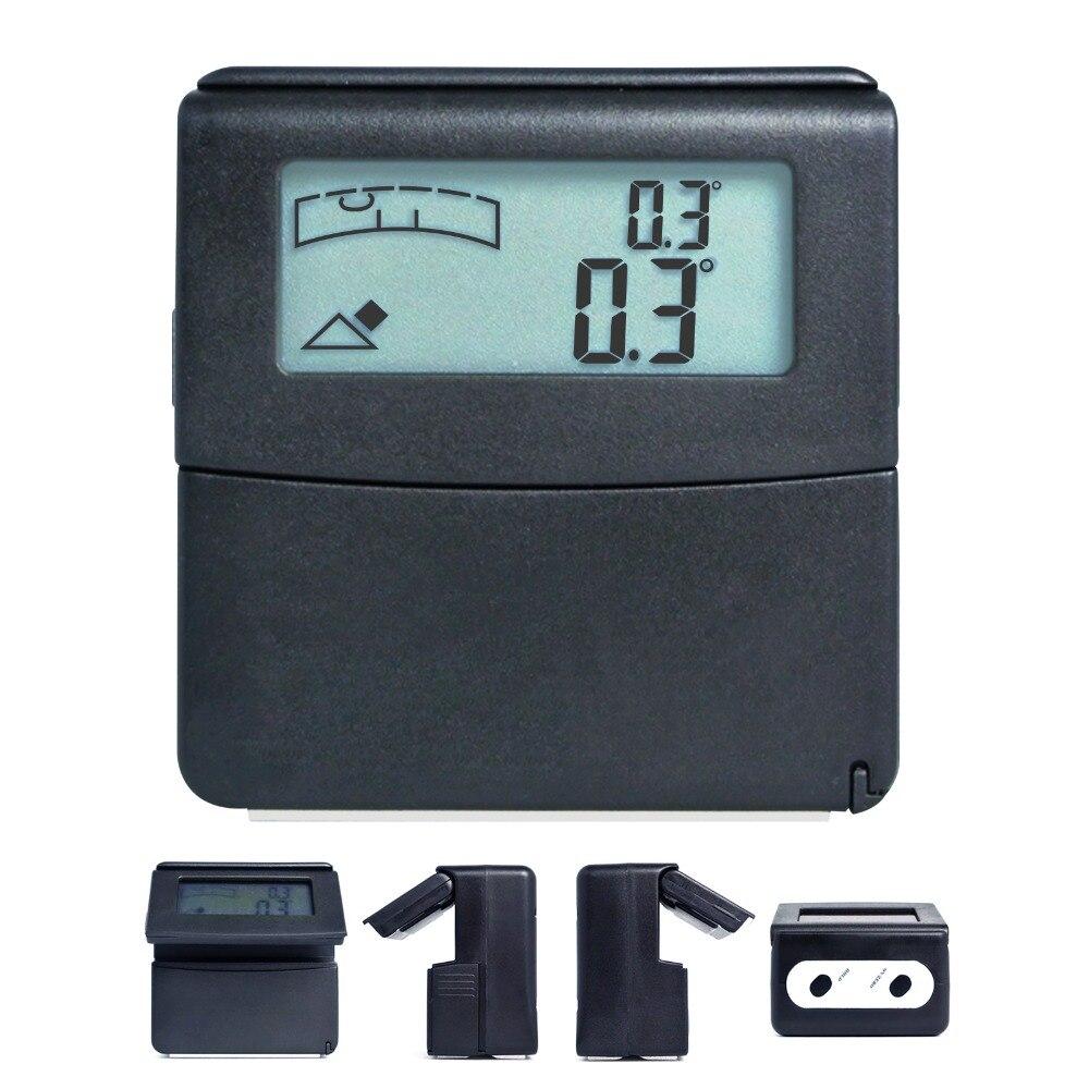 Mini Digital Level Box Angle Gauge Angle Finder inclinometer 180 degree 0 360degree Range Tilt level