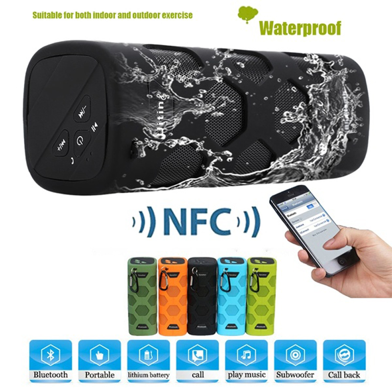 Portable Speaker Outdoor Wireless Bluetooth Speaker Waterproof Speaker Anti-fall with FM Radio TF Card AUX Sound System Boom BoxPortable Speaker Outdoor Wireless Bluetooth Speaker Waterproof Speaker Anti-fall with FM Radio TF Card AUX Sound System Boom Box