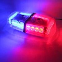 MZORANGE Xe Styling 24 LED Strobe Light Car Khẩn Cấp Cảnh Báo Flashing ánh sáng Xe Truck LED Top Roof Ánh Sáng Bar Mini Cảnh Báo Đèn