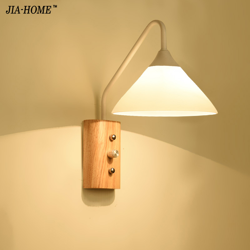 Modern Wall Lamp Bedside Lamps Wall Light Stair Lighting For Bedroom Home  Decor 110V/220V