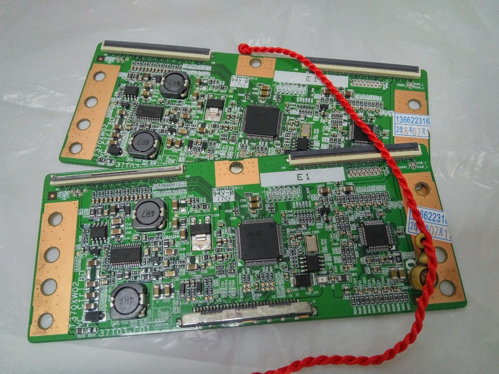 New Original T370XW02 VC 37T03-C01 Logic Board FOR T420XW01 V.C T-CON Connect With Board