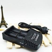 Carregador de Bateria Inteligente plus AC Liitokala Sii-260 3.7 V 18650 26650 18500 16340 1.2 Aa e aaa Ni-mh UE Linha plus Frete Grátis