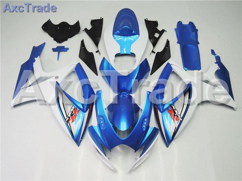Motorcycle Fairings For Suzuki GSXR GSX-R 600 750 GSXR600 GSXR750 2006 2007 K6 06 07 ABS Plastic Injection Fairing Bodywork Kit