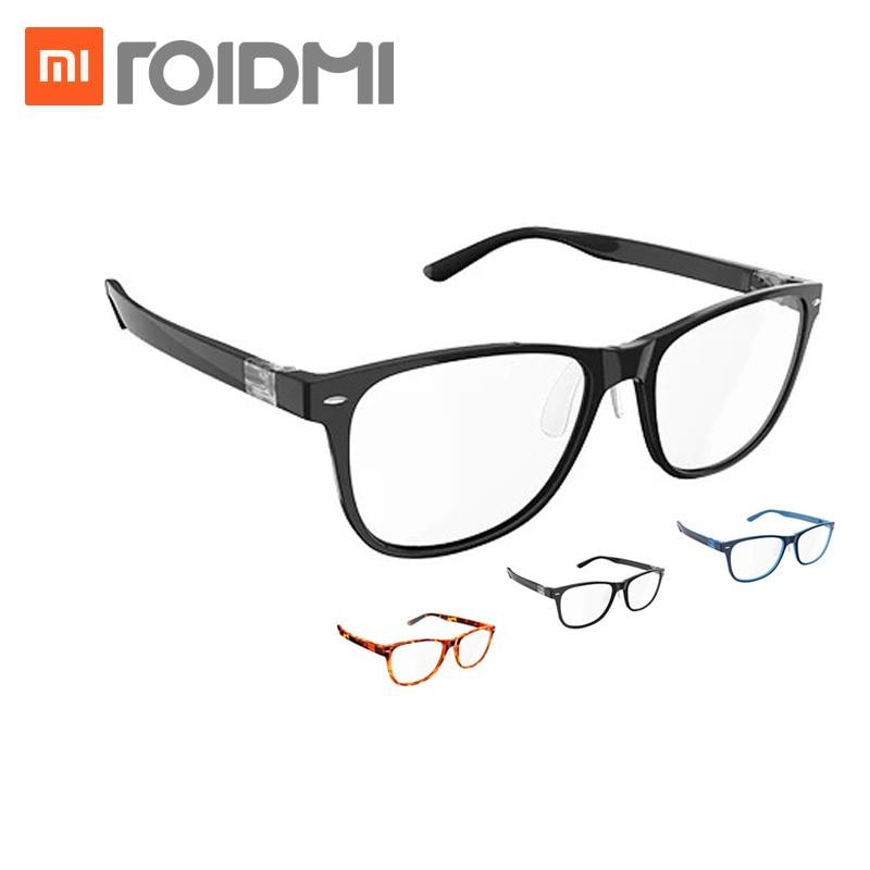 Xiaomi Mijia Qukan W1 ROIDMI B1 desmontable Anti-azul-rayos protección de ojo de vidrio Protector para hombre mujer jugar teléfono/ordenador/juegos