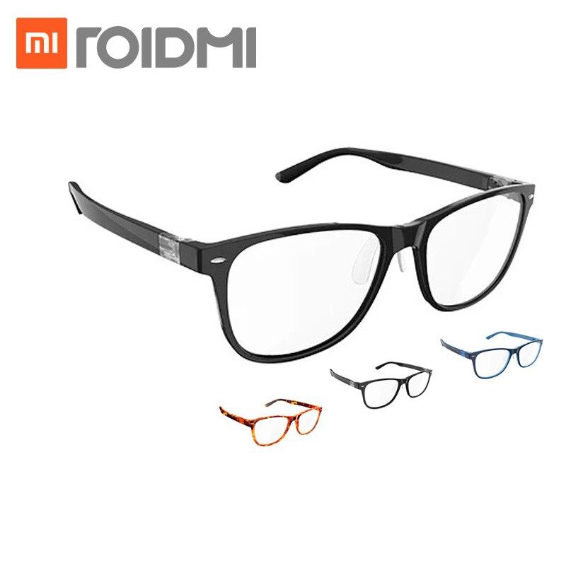Xiaomi Mijia ROIDMI B1 desmontable Anti-azul-rayos protección de ojo de vidrio Protector para hombre mujer jugar Teléfono/computadora/juegos/W1