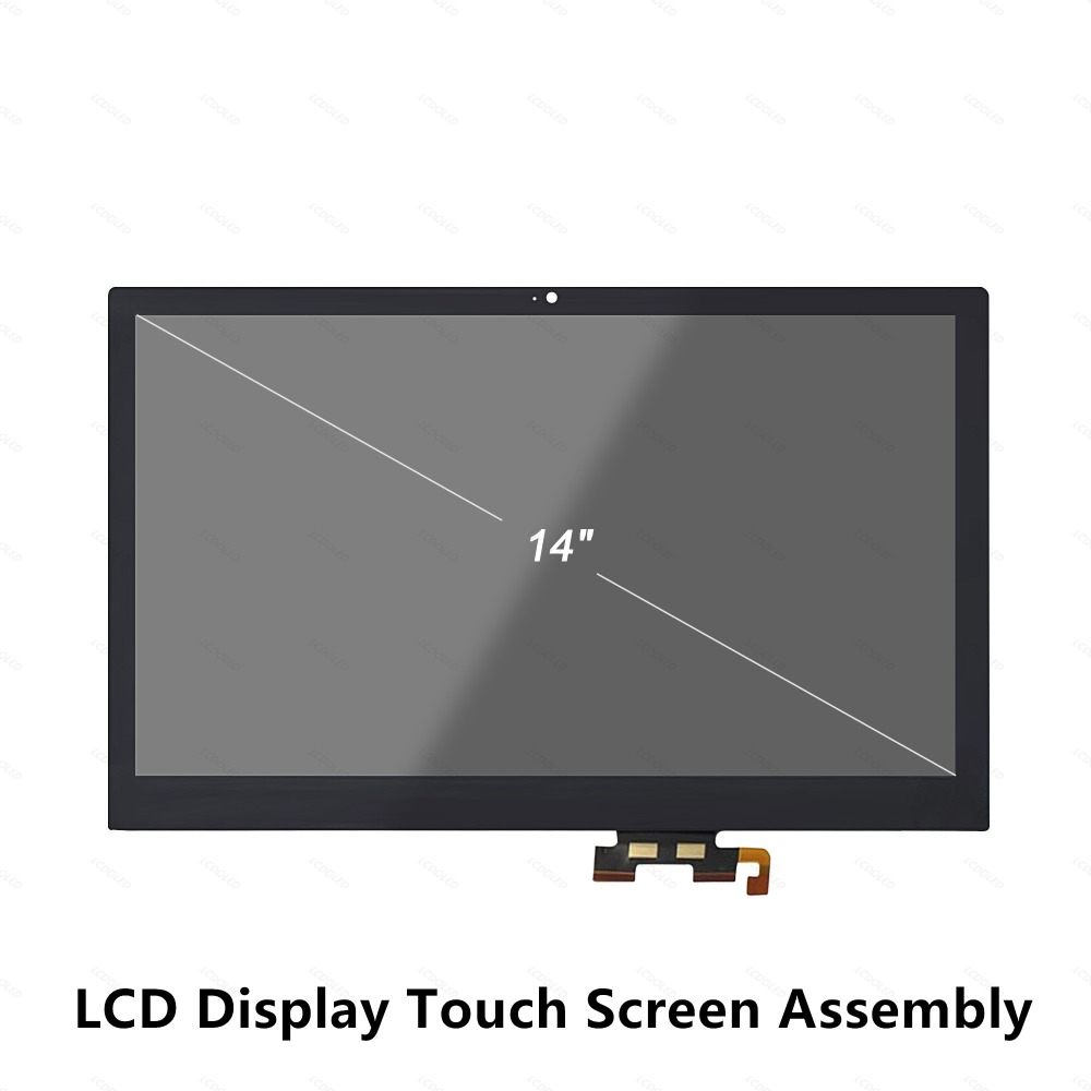 14'' LCD Display Touch Screen Glass Digitizer Assembly for Acer Aspire V5-473P V5-473PG V7-481P V7-481PG V7-482P V7-482PG Series 14 full lcd display b140xtn02 9 touch panel assembly screen digitizer for acer aspire r5 471t 57jd r3 471tg 58e0 r3 471t 56b6