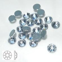 Фотография 2088 Hot-Fix Rhinestones Clear White Glass Stones SS30 8 big+8 Small Crystal Rhinestone Iron on Clothes Wedding Beads