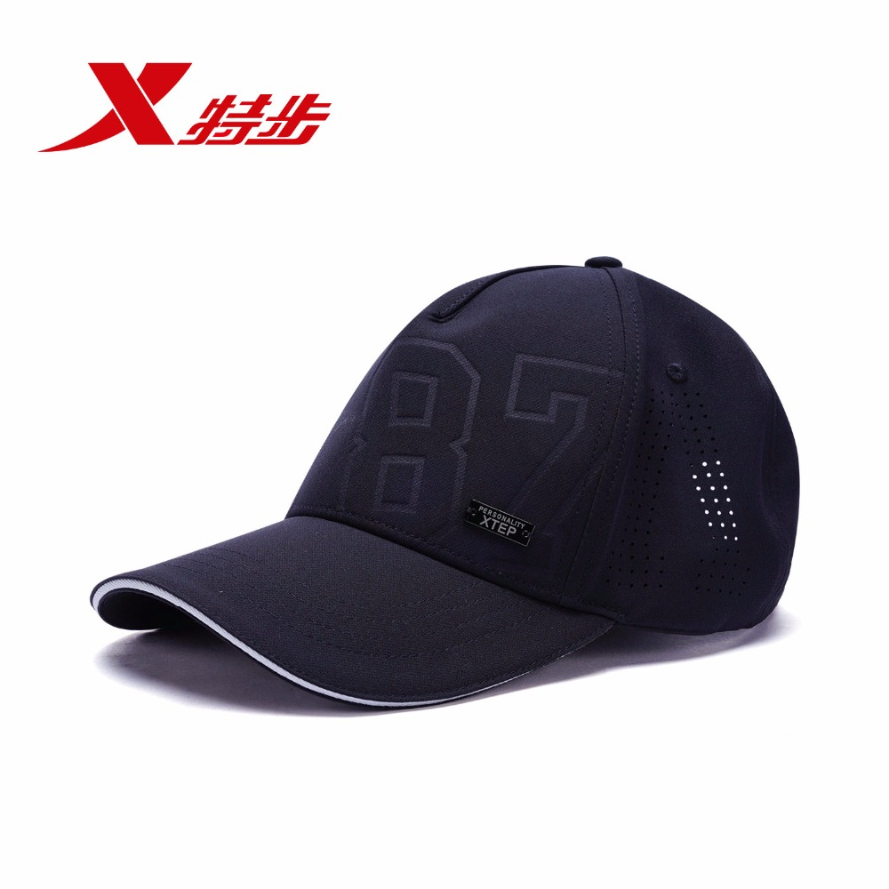 XTEP hat, male and female caps 2018 fall new product leisure sports