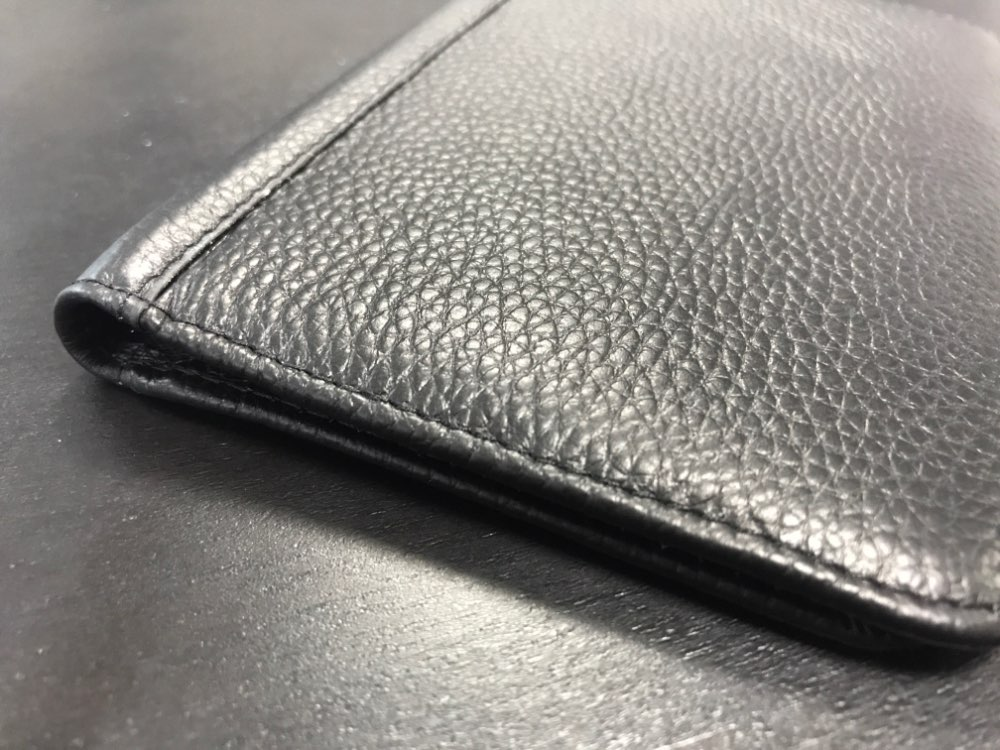 Genuine Leather Passport Wallet RFID Protection Credit Card Holder High Quality Travel Passport Cover Case Black Wallet Men R6 photo review
