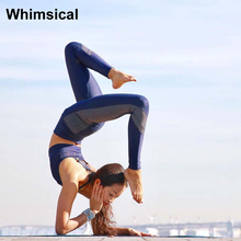 Whimsical Leggings Yoga Pants High Waist Tight Sports Pants Athletic Gym Running Fitness Workout Bottom Elastic Sportswear 2017