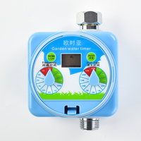 Display LCD Sensore pioggia Stile Manopola Timer Acqua di Irrigazione Automatica Timer Irrigazione Giardino Controller Elettronico Produttore