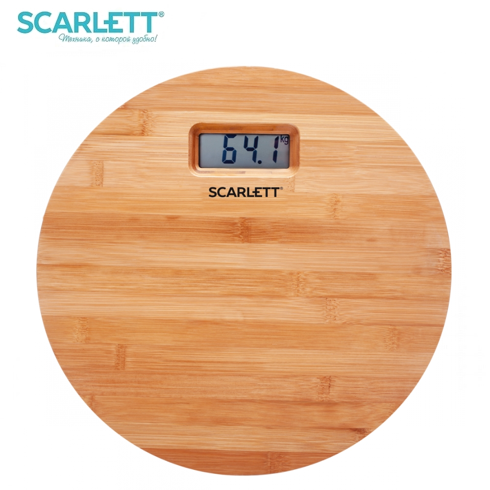 Scale floor Scarlett SC-BS33E061 Scale floor Scale smart Electronic body Scales for weighing human scales body weight недорого
