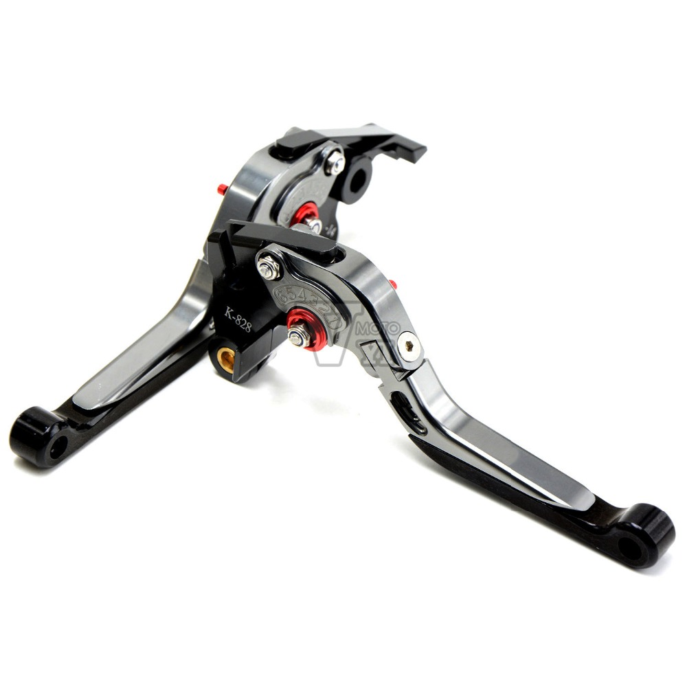 CNC adjustable Motorcycle Folding Brake Clutch Levers for yamaha YZF R6 2005 -2006, XJ6 DIVERSION 2009-2015 2010 2011 2012 2013