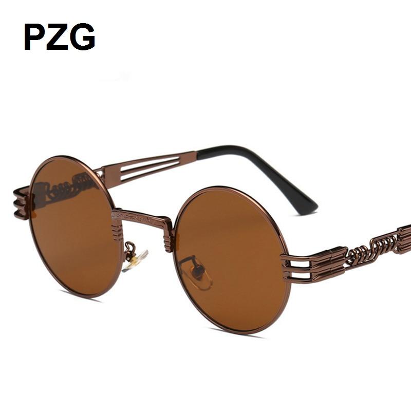 PZG mewah merek Punk Kacamata 2018 baru pria womens kacamata Paduan - Aksesori pakaian - Foto 5