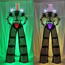LED Kryoman David Costumes