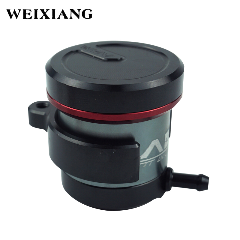 Motorcycle Front Brake Clutch Hydraulic Master Cylinder Fluid Reservoir Oil Cup