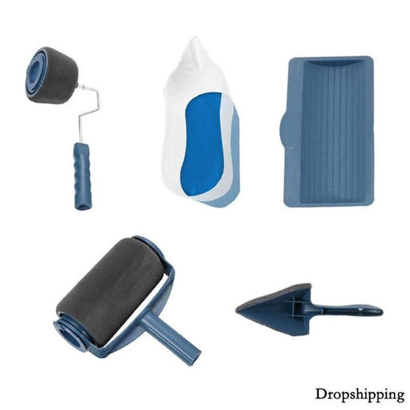 Farbe Runner Pro Roller Pinsel Werkzeuge Set Farbe Runner Set für Zimmer Wand Malerei Werkzeuge Dropshipping