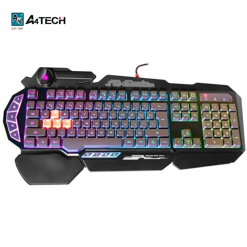 Gaming keyboard A4Tech Bloody B314 Officeacc gaming mouse a4tech bloody tl8 terminator officeacc