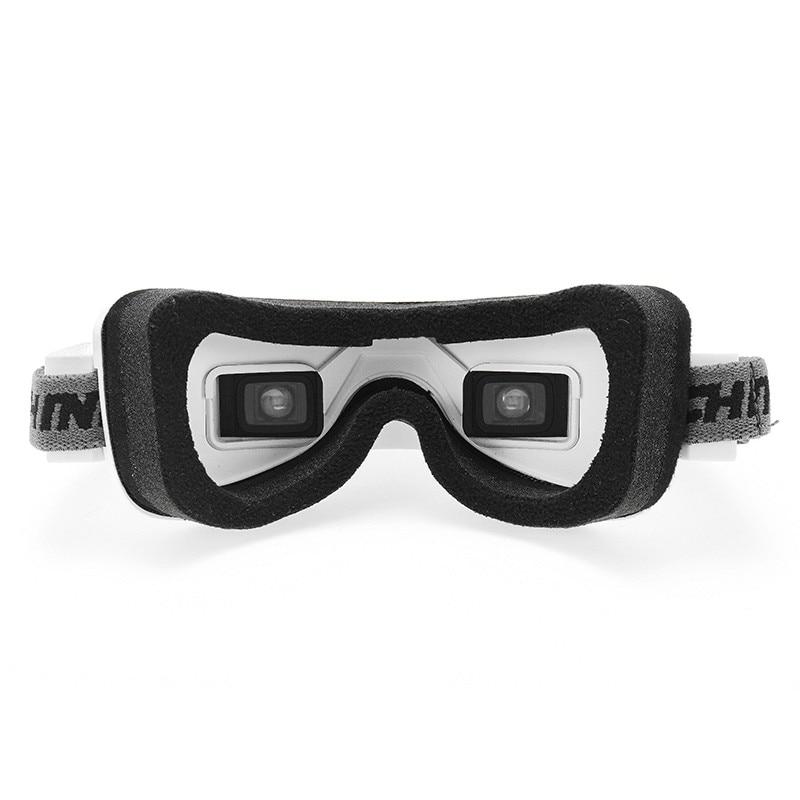 Eachine EV100 720*540 5.8G 72CH FPV lunettes avec double antennes ventilateur 7.4 V 1000 mAh batterie - 3