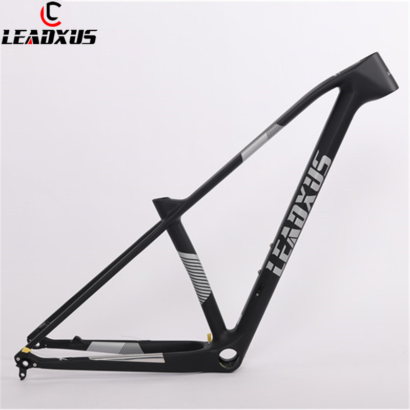 LEADXUS 29er Super Light Carbon Fiber MTB Bike Frame Quick Release/Thru Axle Exchange 29 Inch Mountain Bicycle Carbon Frame