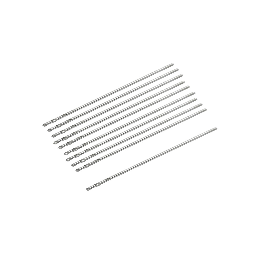 UXCELL High Speed Steel 0.35Mm Dia Split Point 20Mm Long Twist Drill Bits 10 Pcs bit | drill | twist 5pcs long life high speed steel with