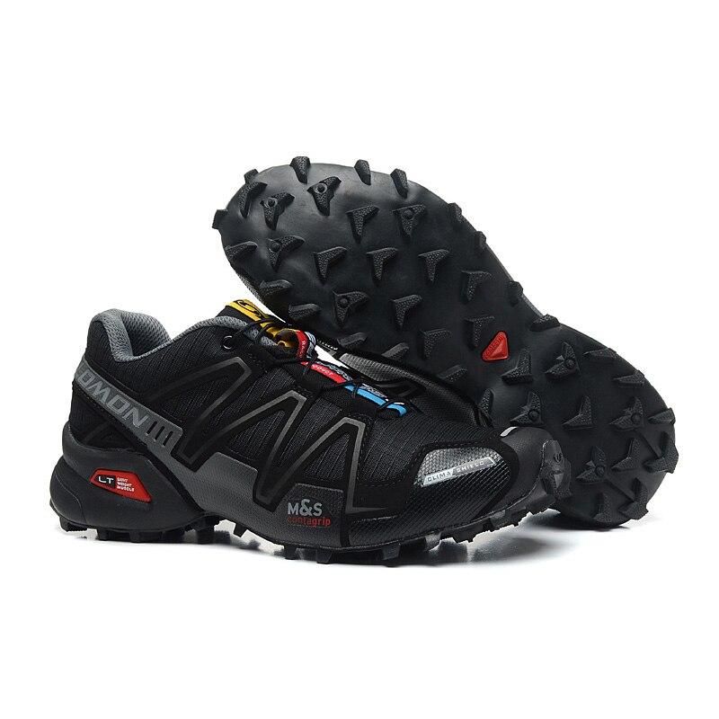 2018 Nouveau Salomon Speed Cross 3 CS III Extérieur Mâle Chaussures de Sport hommes chaussures de course eur 40-46