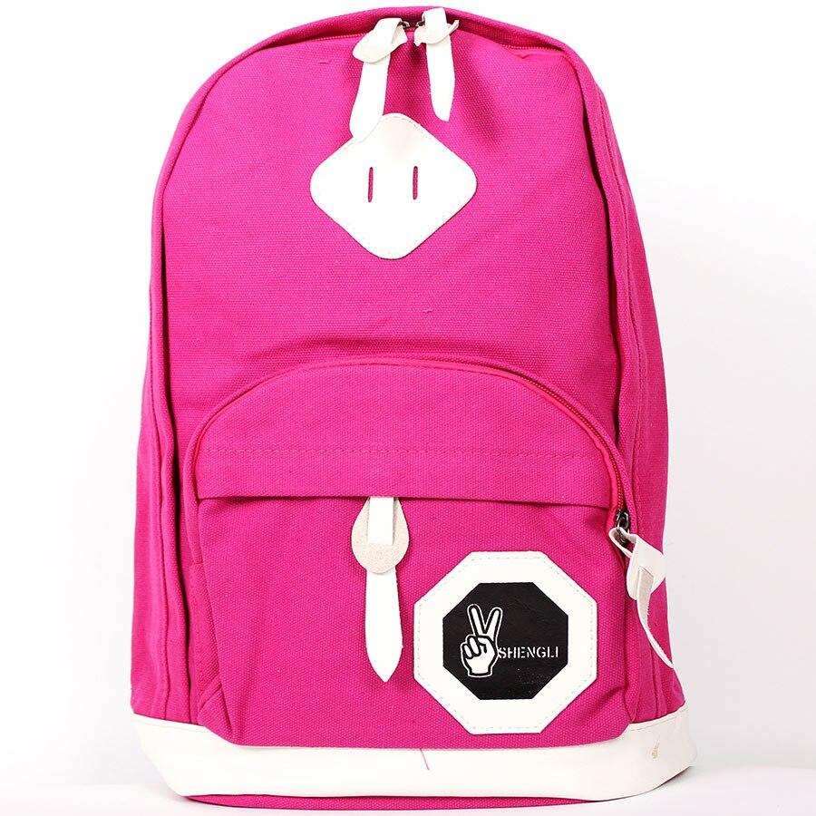 Backpack SHENGLI purple Omo-509 pl 21 stylish rivet backpack purple