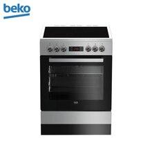 Электрическая кухонная плита Beko FSM 67320 GSS серебристый