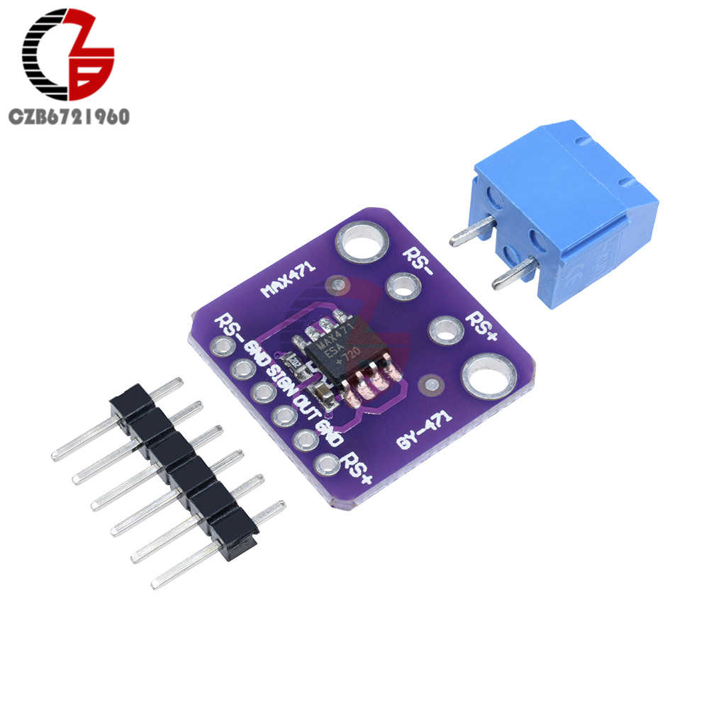 GY-471 MAX471 DC 12V 3A Range Current Voltage Sensor Module Professional  MAX471 Module Analog Input for Arduino