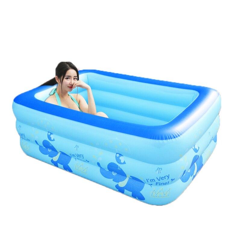 Baby Gonfiabile Albercas Familiares Swiming Pool Hot Sauna Adult Bath Tub Inflatable Bathtub