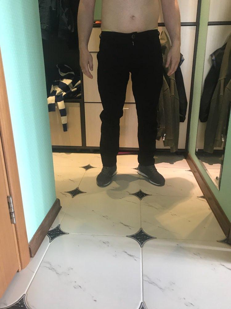 VOMINT Штаны Для мужчин новый 2018 Для мужчин s Повседневное Штаны стрейч Мужские Брюки Человек Длинные прямые цвет: черный, синий хаки большие размеры Костюм со штанами Штаны