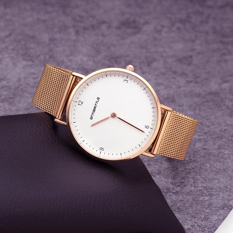 Quartz Wristwatch Waterproof Luxury Brand Rose Gold font b Watches b font Women 6mm Ultra Thin