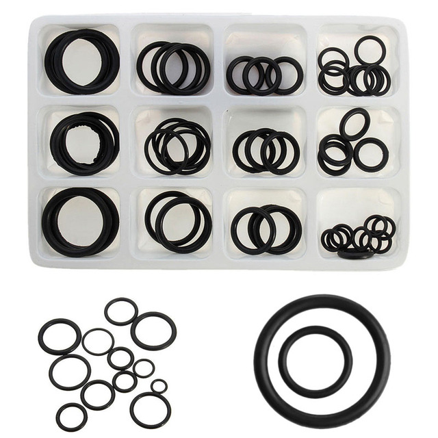 50Pcs/set Rubber O Ring Assorted Sizes Kit For Plumbing Tap Seal ...