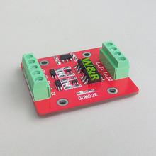 цена на GOM02E-3A  2-way solid state relay module / high or low level trigger / 60V / 3A optocoupler isolated output / level shifting