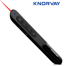 Knorvay N27 Wireless Presenter RF 2.4GHz Mini USB Wireless Presenter Powerpoint PPT Presentation Pointer Remote Control