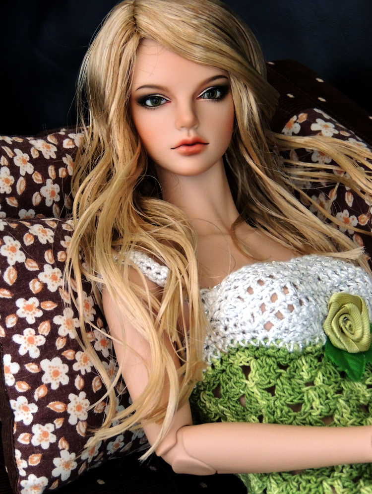 HeHeBJD 1 3 beautiful girl Grace free eyes resin model high quality toys